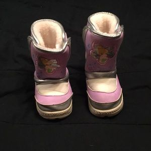 Size 10 Tinkerbell snow boots!